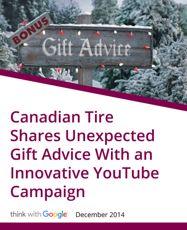 Think with Google, Canadian Tire Gifts