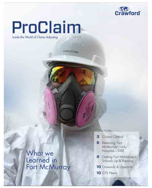 Crawford Canada Proclaim insurance publication, What we learned in Fort McMurray