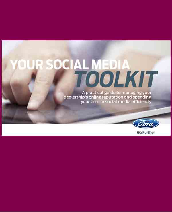 Ford, social media toolkit