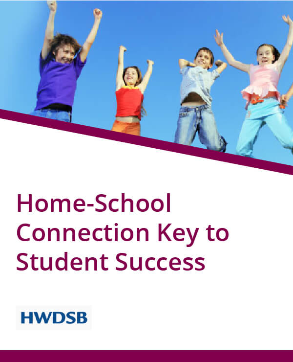 HWDSB, Home-school connection key to student success