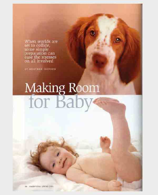 Modern Dog, Make room for baby