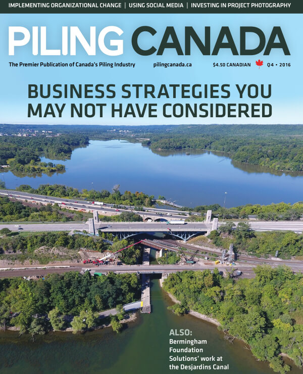 Piling Canada, Photo Ready