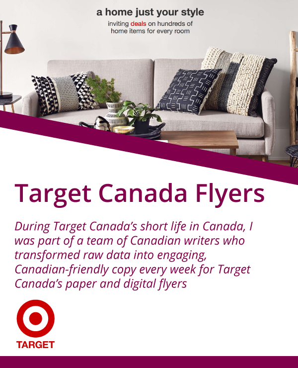 Target Canada flyers