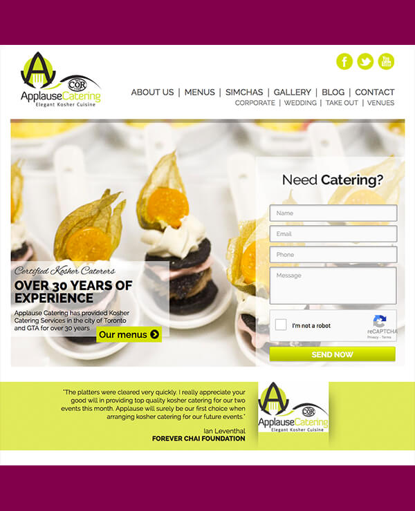 Applausecatering.ca