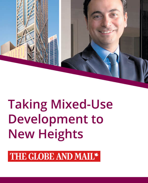 The Globe and Mail, Mixed-Use Development